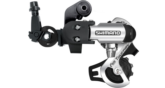Shimano Tourney RD-FT55 Przerzutka tylna 6/7-rzędowe bezpośredni montaż  czarny/srebrny